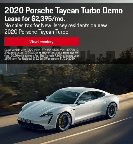 2020 Porsche Taycan Turbo Demo