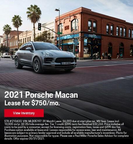 2021 Porsche Macan May
