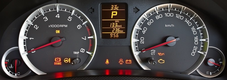 Subaru Dashboard Warning Lights