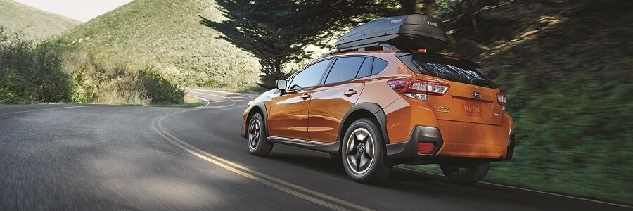2018 Subaru Crosstrek in Sunshine Orange