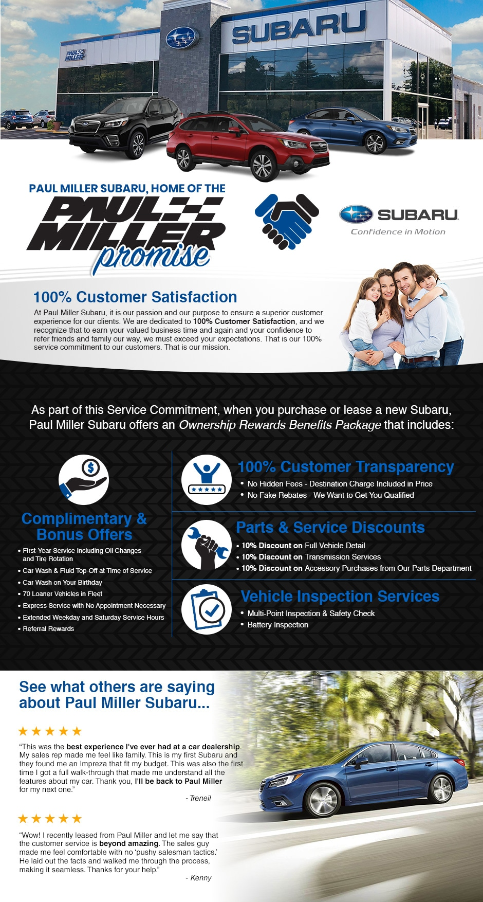 Subaru Dealer Parsippany Nj Paul Miller Subaru