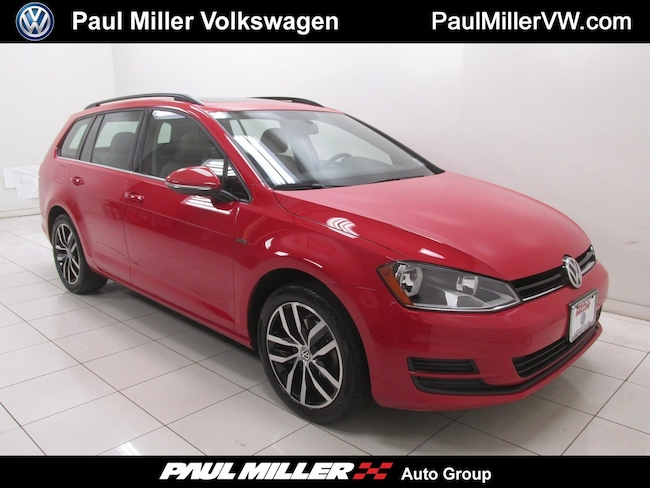 2016 Volkswagen Golf SportWagen TSI Limited Edition Wagon Used Car for sale in Bernardsville, New Jersey