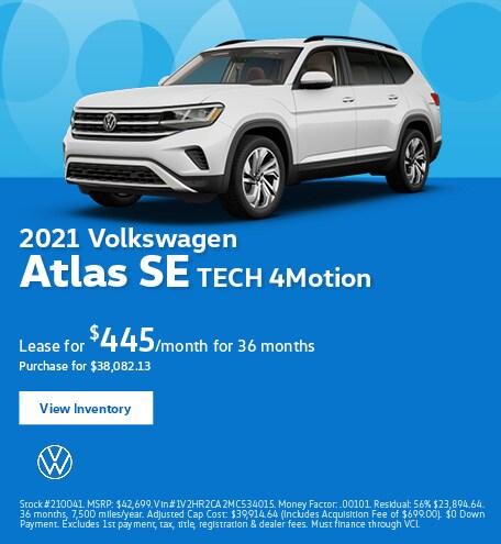 2021 Volkswagen Atlas SE TECH 4Motion