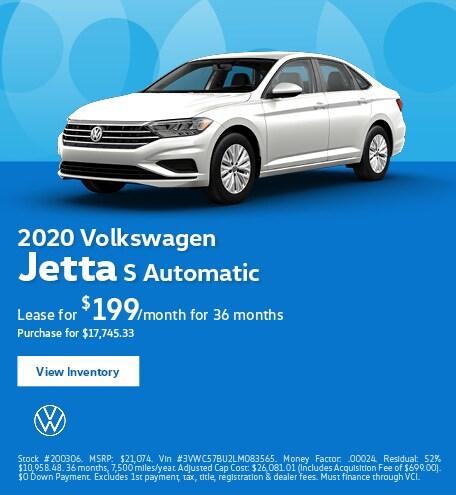 2020 Volkswagen Jetta S Automatic