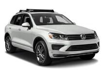 2017 Volkswagen Touareg V6 Wolfsburg Edition (A8) SUV