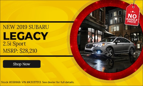 New 2019 Subaru Legacy 2.5i Sport Purchase offer