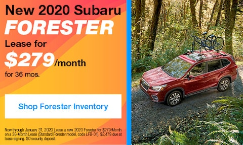 January 2020 Forester Lease Offer