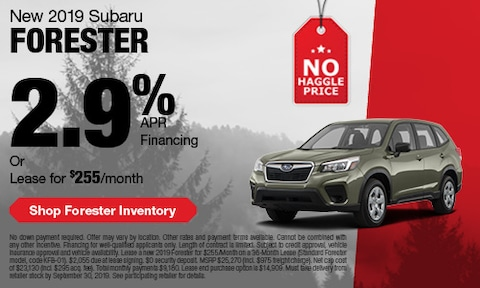 September Subaru Forester Offer