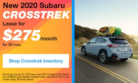 January 2020 Crosstrek Lease Offer