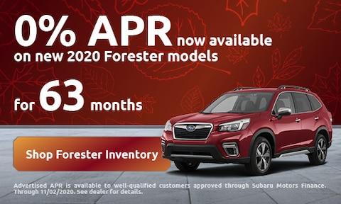 October Forester Offer