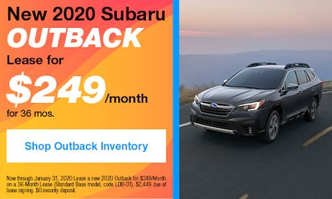 January 2020 Outback Lease Offer