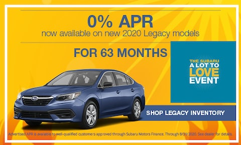 August 2020 Legacy APR Offer
