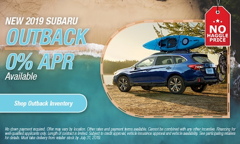 July 2019 Outback APR Offer