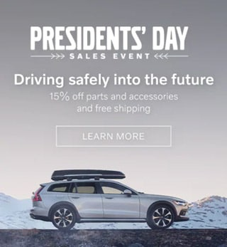 Volvo Presidents' Day Parts Special
