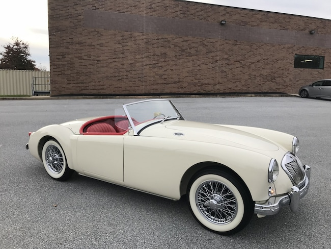 1956 MG A 1500 Roadster Frame-Off Restoration Convertible