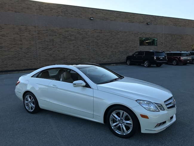 2010 Mercedes-Benz E350 Coupe Premium Pkg/Pano Roof/Dealer Serviced Coupe