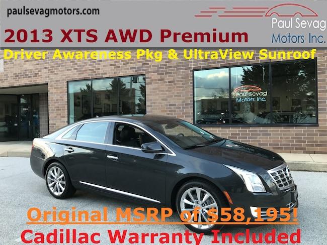 2013 Cadillac XTS Premium AWD with Driver Awareness Pkg/UltraView Roof Sedan