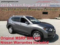 2018 Nissan Rogue SV AWD Premium Pkg/AroundView Monitor/Intelligent Cruise/Navigation
