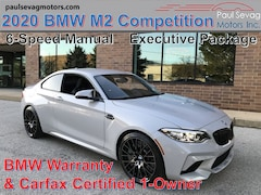 2020 BMW M2 Competition Coupe with a 6-Speed Manual & Executive Package/Active Driving Assistant