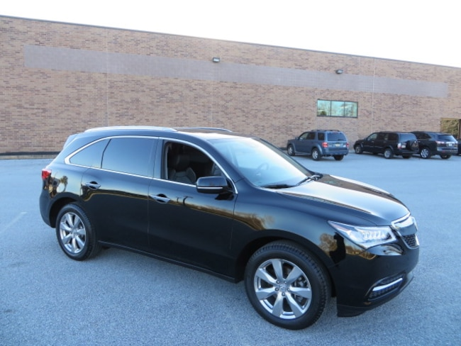 2016 Acura MDX SH-AWD Advance Pkg with AcuraWatch Plus/Heated Steering W SUV
