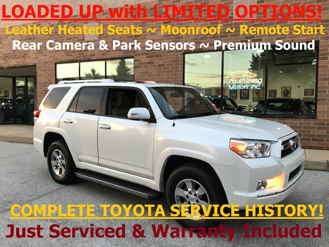 2010 Toyota 4Runner SR5 Premium 4WD Heated Leather/RV Camera/Fully Serviced SUV