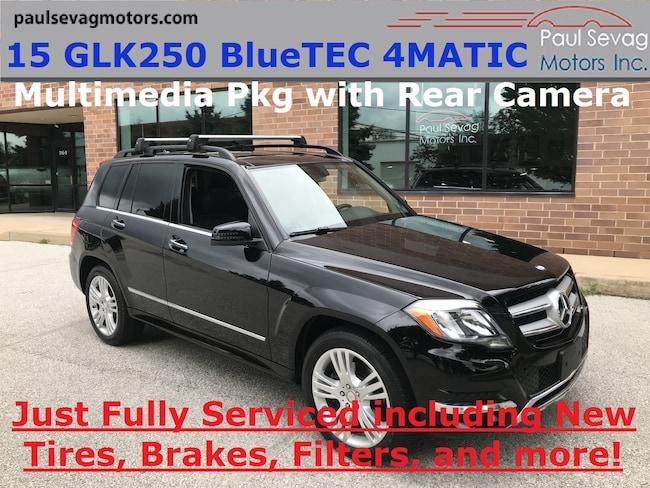 2015 Mercedes-Benz GLK250 BlueTEC 4MATIC Multimedia Pkg/Just Fully Serviced SUV