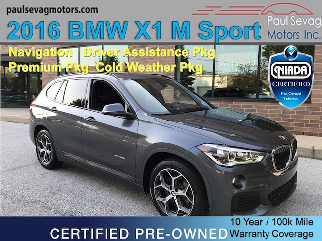 2016 BMW X1 xDrive28i M Sport Pkg Driver Assistance/Cold Weather/Premium SUV
