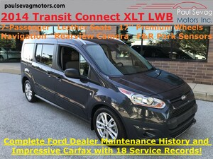 2014 Ford Transit Connect XLT LWB 7-Passenger/Leather/Navigation/Fully Serviced