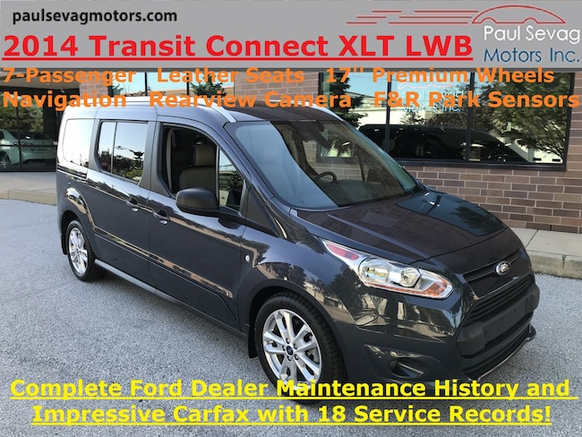 2014 Ford Transit Connect XLT LWB 7-Passenger/Leather/Navigation/Fully Serviced Wagon