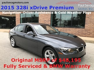 2015 BMW 328i xDrive Sedan Premium Navigation/Rear Camera/MSRP $48,195