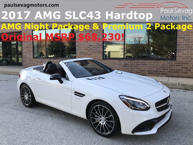 2017 Mercedes-Benz AMG SLC 43 Premium 2 Package/AMG Night Package Roadster