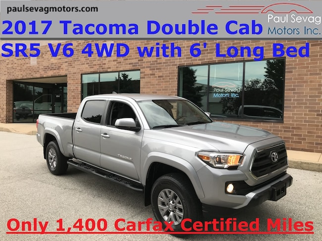2017 Toyota Tacoma Double Cab SR5 V6 6' Long Bed 4WD/Brand New Condition Truck Double Cab
