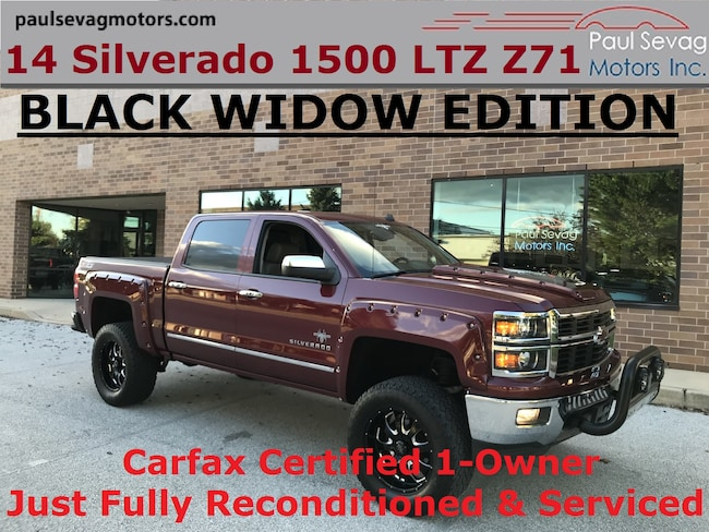 2014 Chevrolet Silverado 1500 Crew Cab Black Widow Package