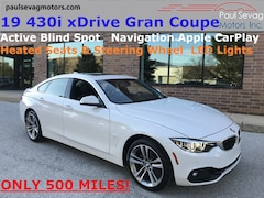 2019 BMW 430i xDrive Gran Coupe with Only 500 Miles/$10,000 off New Sticker