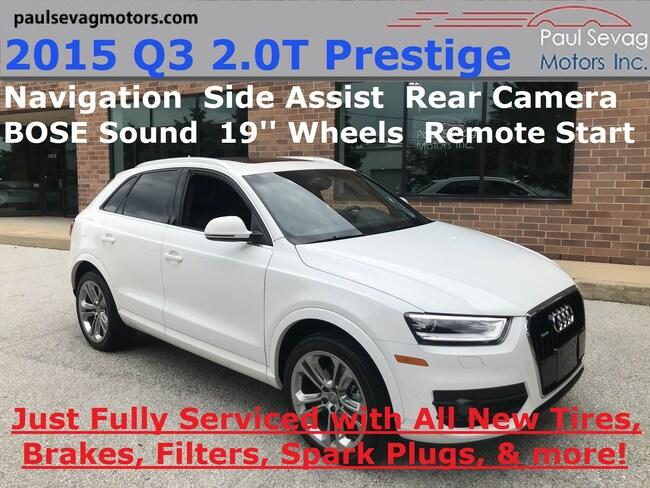 2015 Audi Q3 2.0T Quattro Prestige Navigation/BOSE/Side Assist/19''Wheels SUV
