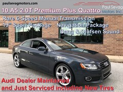 2010 Audi A5 2.0T Premium Plus Quattro Coupe with 6-Speed Manual/19'' Sport Package/Bang & Olufsen