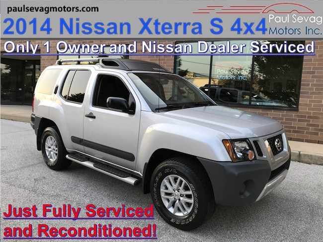 2014 Nissan Xterra S 4x4 Only 1-Owner and Just Fully Serviced & Reconditioned SUV