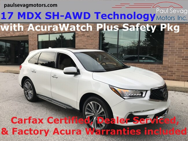2017 Acura MDX SH-AWD Technology Package and AcuraWatch Plus Package SUV