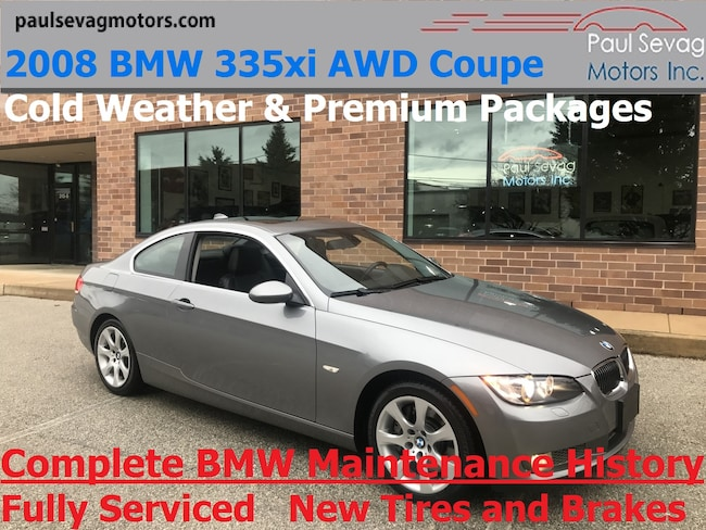 2008 BMW 335xi AWD Coupe Premium Pkg/Cold Weather Pkg/Fully Serviced Coupe