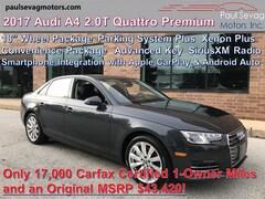 2017 Audi A4 2.0T Premium Quattro with 18'' Wheel Pkg/Parking System Plus/Convenience Pkg