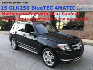 2015 Mercedes-Benz GLK250 BlueTEC 4MATIC Multimedia Pkg/Fully Serviced