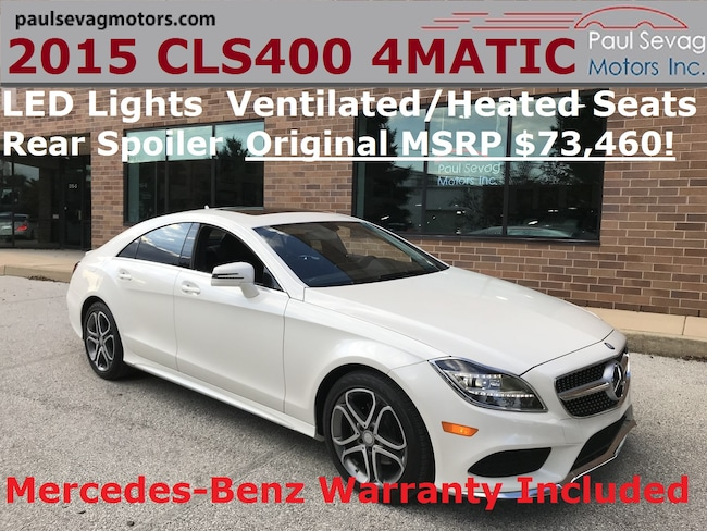 2015 Mercedes-Benz CLS400 4MATIC Premium Pkg/MB Warranty/MSRP $73,460 Coupe