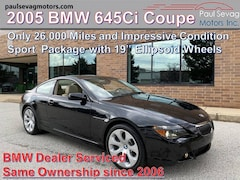 2005 BMW 645Ci Coupe Sport Package/Only 2-Owners and Full Maintenance History