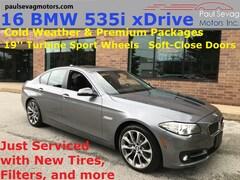 2016 BMW 535i xDrive Sedan Premium/Cold Weather Pkgs/19'' Turbine Wheels/MSRP