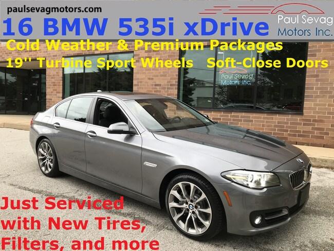 2016 BMW 535i xDrive Sedan Premium/Cold Weather Pkgs/19'' Turbine Wheels/MSRP Sedan
