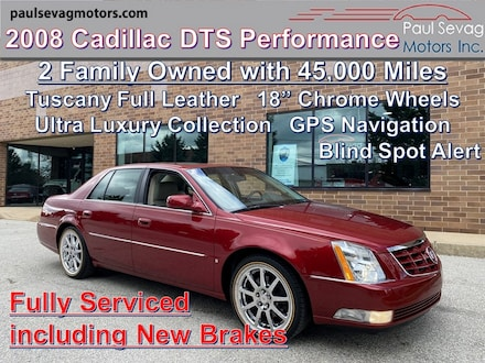 2008 Cadillac DTS Performance Collection Ultra Luxury Collection/Navigation/Fully Serviced