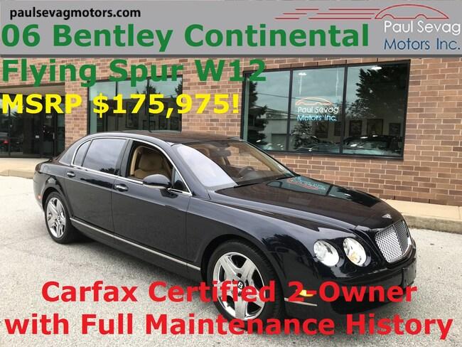 2006 Bentley Continental Flying Spur Twin Turbo W12 AWD/Full Service History Sedan
