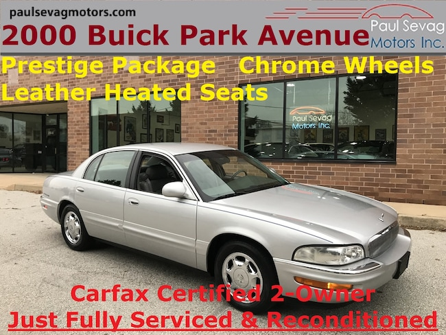 2000 Buick Park Avenue Prestige Package/Only 2-Owners & Just Fully Servic Sedan
