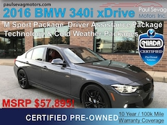 2016 BMW 340i xDrive M Sport  with Technology/Driver Assistance/Cold Weather Pac