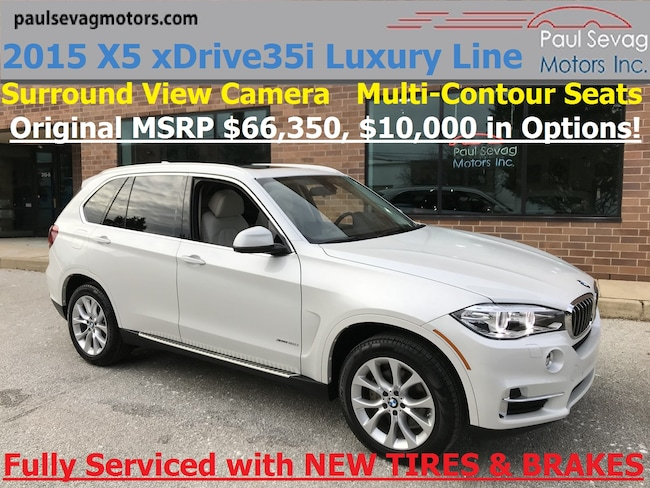 2015 BMW X5 xDrive35i Luxury Line Cold Weather/Surround View/MSRP $66,350 SUV